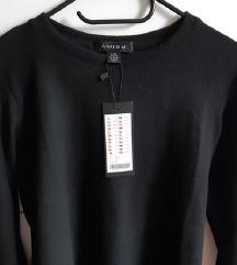 NOV črn pulover AMISU, vel. 34