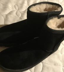Zimski škornji - pravo usnje, prava ovčka