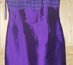 Obleka iz svile vel. 42