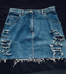 Jeans ripped krilo M/38
