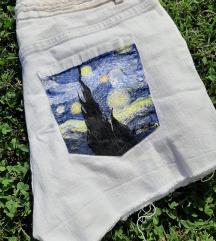 Poslikane kratke hlače 38