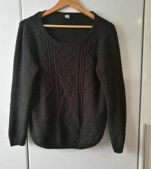 bombažen pleten pulover S'Oliver