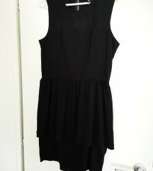 črna obleka hm