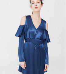 nova Mango satenasta obleka XS, MPC 49,99 EUR