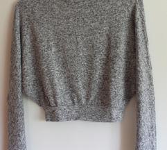 pull&bear siv puloverček