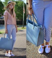 Svetlo modra torbica H&M