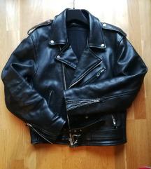 Usnjem moška jakna