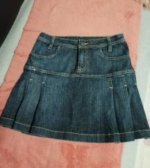 Jeans krilo XS