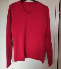 Heine rdeč pulover, samo opran