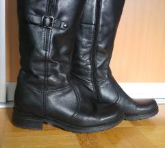 Zimski usnjeni škornji
