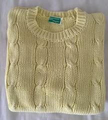 Poletni pulover rumen