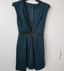 zelena svečana obleka nova