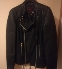 Next črna biker jakna