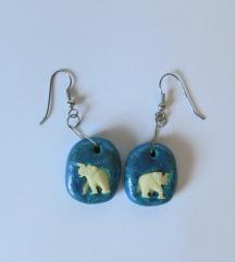 Unikatni uhani slončki