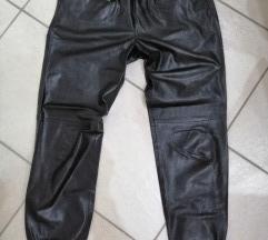zara usnjene hlače