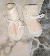 Copatki za novorojenčka