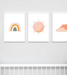 Personalizirane slike za otroško sobo