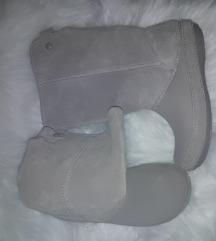 Zimski škornji Crocs bež