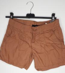 Ženske kratke hlače, rjave