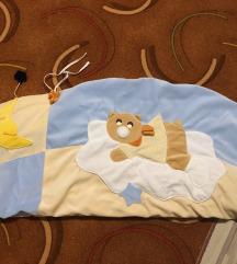 Obroba za otroško posteljo