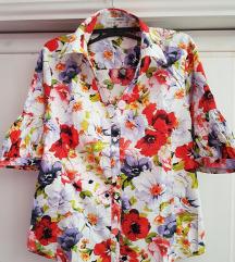 NARACAMICIE rožasta bluza