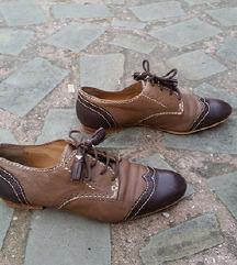 ZARA št. 37 pravo usnje čevlji