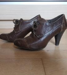 Humanic Oxford čevlji z visoko peto