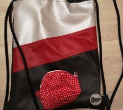 Nov nahrbtnik s toaletno torbico