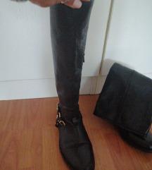 Škornji usnjeni st. 36