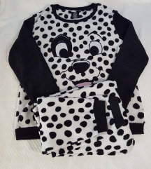 101 dalmatinec komplet ne nošena pižama