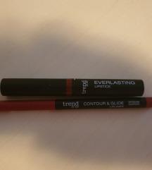 Novo - šminka lipstick in svinčnik za ustnice
