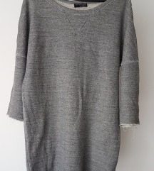 ZARA sweatshirt dress S/M (s ptt!)