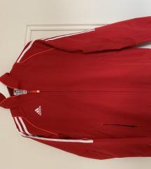 ZNIŽANA!!Nova Adidas rdeča vetrovka