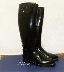Armani Exchange gumijasti škornji