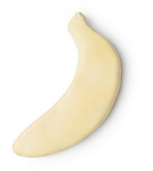 Lush masažna ploščica banana