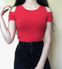 Rdeča kratka majica Xs
