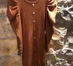 Oblekica z nabranimi rokavi