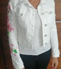 Guess bela jeans jakna št. M in L - NOVA