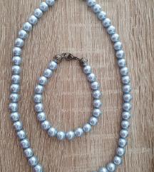 Verižica+zapestnica-perle