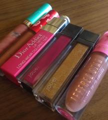 Tekoče šminke različnih znamk