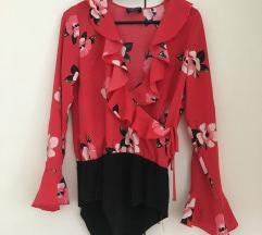 ZARA body - majica bluza S velikost
