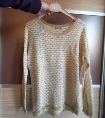 Orsay NOV zlat pulover