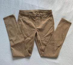 Rjave raztegljive hlače UNIQLO
