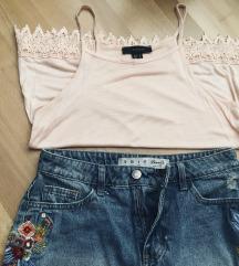 Majica + jeans kratke hlače