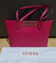 Guess pink tote bag