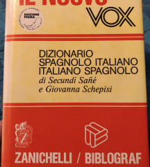 Špansko italijanski slovar