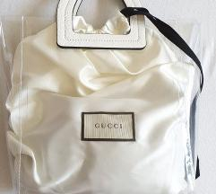 Prozorna torbica z Original Gucci vrečko