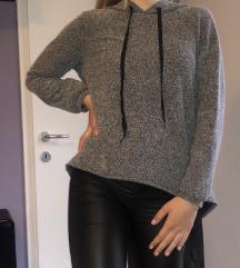 Siv pulover s tilom