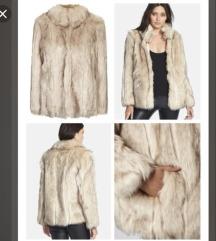 Faux fur jakna