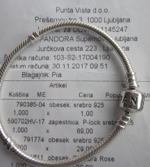 NOVA Pandora zapestnica, original